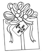 Gifts From God Coloring Page