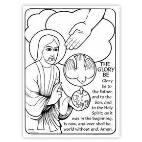 Glory Be Coloring Page