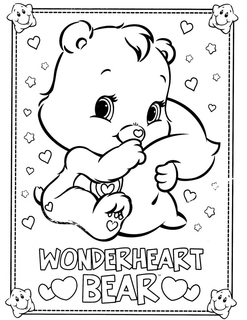 Bear Coloring Pages Free Printable