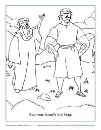 Israel Asks For A King Coloring Page