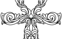 Ankh Coloring Page